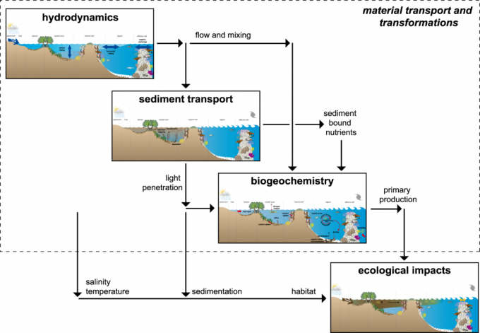 Material transport and transformations