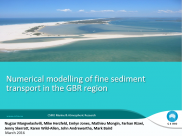 No3 Numerical modelling of fine sediment transport in the GBR region