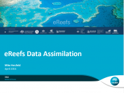 No5 eReefs Data Assimilation